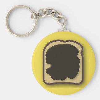 Porte-clés Extrait de levure australien sur le pain grillé