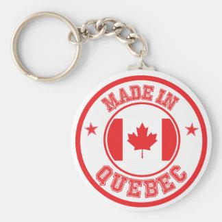 Porte-clés Fabriqué au Québec