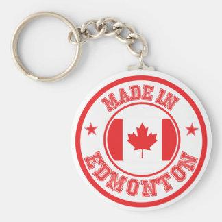 Porte-clés Fait à Edmonton