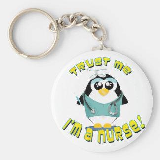 Porte-clés Faites confiance que je je suis une infirmière