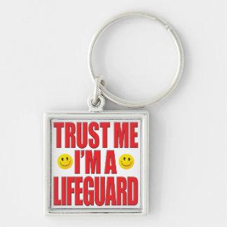 Porte-clés Faites- confiancemoi la vie de maître nageur