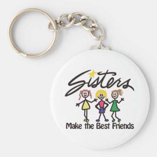 Porte-clés Faites les meilleurs amis