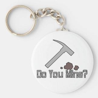 Porte-clés Faites-vous mine