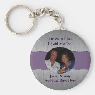 Porte-clés Faveur de mariage de porte - clé d'image