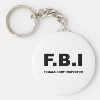 Porte-clés FBI complètement