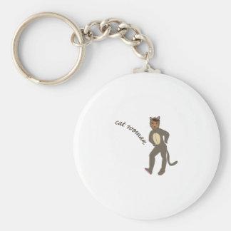 Porte-clés Femme de chat