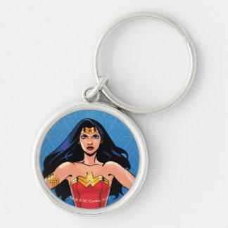 Porte-clés Femme de merveille - combat pour la paix