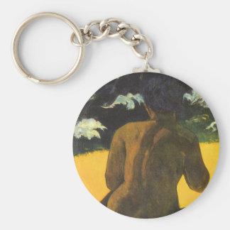 Porte-clés Femme par la mer par Paul Gauguin, beaux-arts