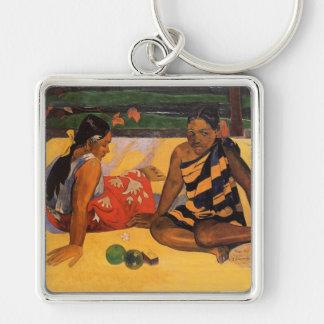 Porte-clés Femmes de Gauguin Polynésie Tahiti
