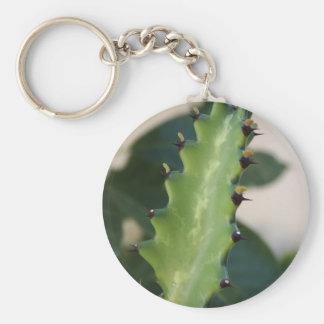 Porte-clés Feuille de cactus