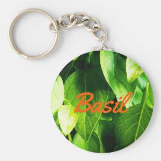 Porte-clés Feuille fait sur commande de Basil