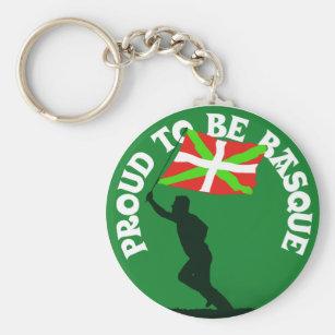 """Porte-clés """"Fier d'être Basque """""""