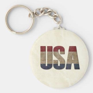 Porte-clés Fierté d'Américain des Etats-Unis
