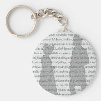 Porte-clés Fierté et préjudice