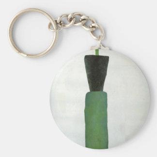 Porte-clés Figure femelle par Kazimir Malevich