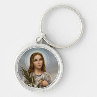Porte-clés Fille de lis de Maria Goretti de saint