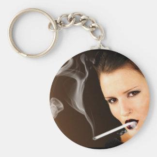 Porte-clés Fille de tabagisme - 120 ml