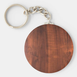 Porte-clés Finition en bois de Teakwood en bois de noix