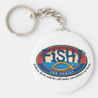 Porte-clés Fisher des hommes