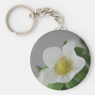 Porte-clés Fleur de fraise