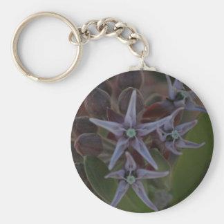 Porte-clés Fleur de Milkweed