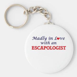 Porte-clés Follement dans l'amour avec un Escapologist