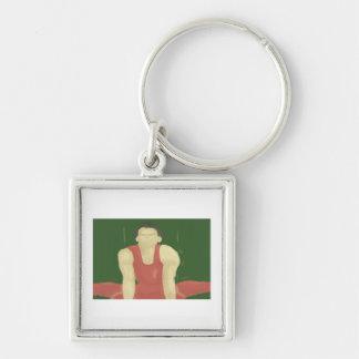 Porte-clés Force gymnastique, porte - clé