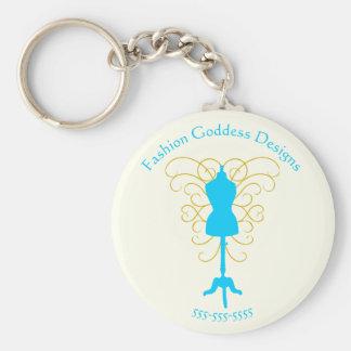 Porte-clés Forme de robe avec des remous - porte - clé de