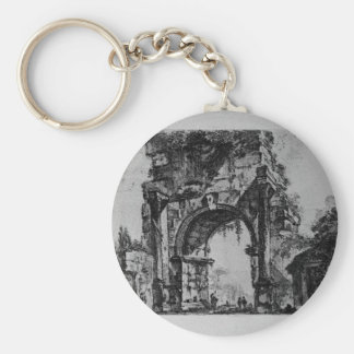 Porte-clés Forum d'Augustus par Giovanni Battista Piranesi