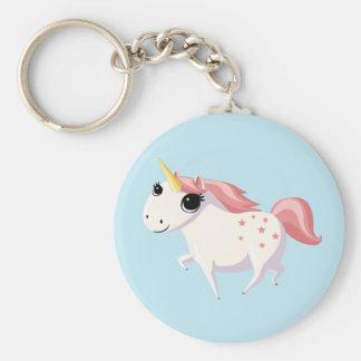 Porte-clés Fraise la licorne