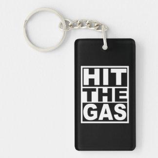 Porte-clés Frappez le gaz