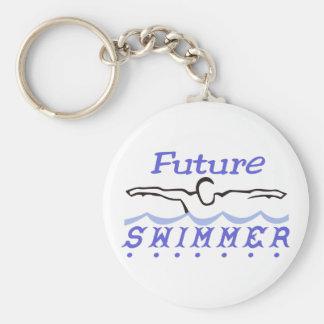 Porte-clés Futur nageur