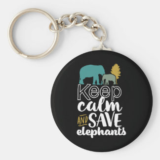 Porte-clés Gardez l'activiste d'amoureux des animaux