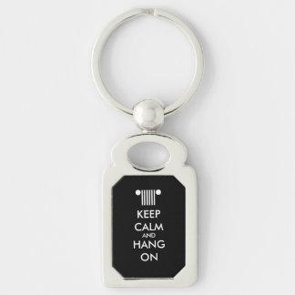 Porte-clés Gardez le coup calme dessus