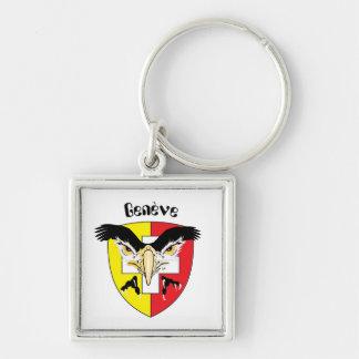 Porte-clés Genève, Genève, Ginevra, Genevra Schlüsselanhänger