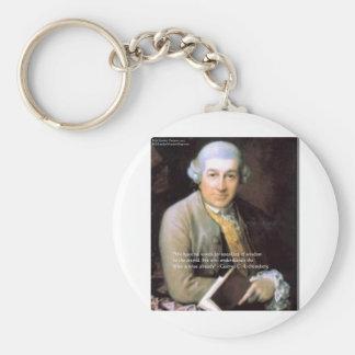 """Porte-clés Georg C Lichtenberg """""""" les cadeaux et les cartes s"""