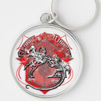 Porte-clés George et le dragon