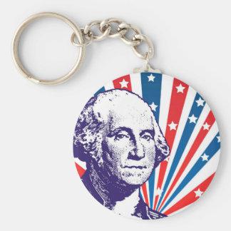 Porte-clés George Washington