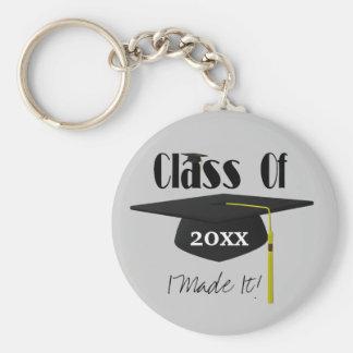 Porte-clés Gland de casquette d'obtention du diplôme je lui
