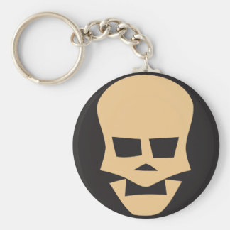 Porte-clés Golden skull