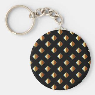 Porte-clés Goujons en métal d'or