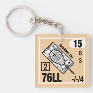 Porte-clés Gousset de porte - clé de M10 Achille
