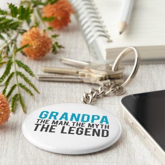 Porte-clés Grand-papa, l'homme, le mythe, la légende