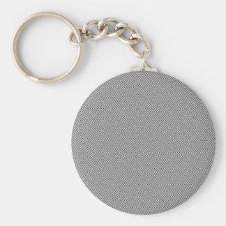 Porte-clés Grille noire tramée