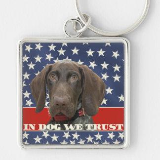 Porte-clés Grizzly4President, chez le chien nous faisons