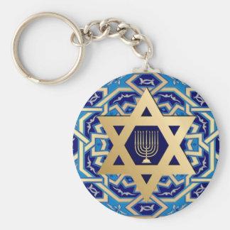 Porte-clés Hanoukka/porte - clés cadeau de Chanukah
