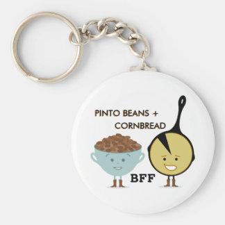 Porte-clés Haricots de Pinto + Porte - clé du pain de maïs