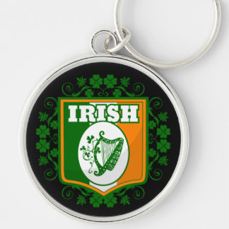 Porte-clés Harpe du jour de St Patrick