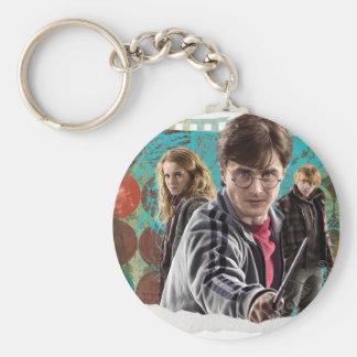 Porte-clés Harry, Hermione, et Ron 1