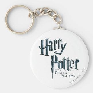 Porte-clés Harry Potter et le de mort sanctifie le logo 1